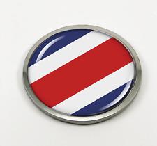 COSTA RICA COUNTRY FLAG BUMPER STICKER FLAG-TASTICK EMBLEM..SIZE 3.5 X 2 INCH