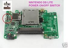 Nintendo Ds Lite On/off Power Switch sobre defectuosos Reparación
