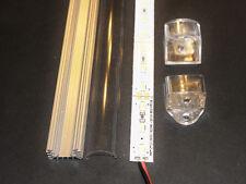 """40"""" 12V 72 LED 5630 Aluminum Shell Strip Green Red or Blue Bar Kitchen Light"""