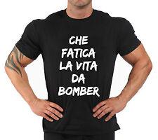 """T-Shirt cazadora de aviador verano """"che fatica la vida de cazadora de aviador"""""""