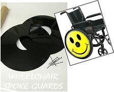 Silla de ruedas Spoke guardias sonriente Cara Personalizadas Diseños personalizados disponibles