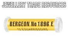12 BERGEON 1896E CLOCK & WATCH BROACHES 0.20mm - 1.00mm