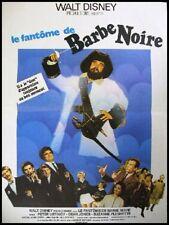 LE FANTOME DE BARBE NOIRE Affiche Cinéma Poster DISNEY