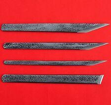 Couteau lame cutter sculpteur sculpture bois japon AOGAMI II acier bleu carbone