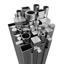 Edelstahl Rohr Stab Vierkantrohr/Rechteckrohr Geländer V2A geschliffen Metallbau