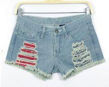 Pantaloncini corti shorts pantaloni bermuda corti donna denim jeans 6071
