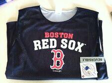 Boston Red Sox No Sleeve Shirt. Brand New. Basketball style. Reversible