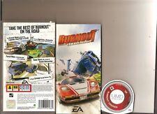Burnout Legends Sony PSP Racing