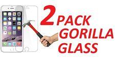 2X 9H Hard Premium Ballistic Tempered Gorilla Glass For Apple Iphone 5 5S 5C Se
