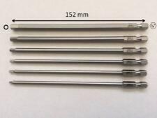 Imbus Bits 152 mm extra lang f. Akku Schrauber Innensechskannt Schrauben