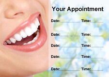 DENTISTA orthodontist Sbiancamento personalizzata nomina CARDS