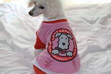 Spring Summer Pet/Dog puppy Apparel Cloth Costume top shirt