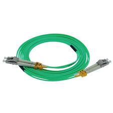 LC-LC Fiber Optical Duplex Patch Cords Multimode 50/125 OM3 1M to 50M 10G V2 LOT