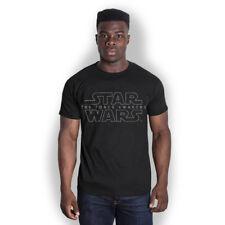STAR Wars T Shirt Uomo Nero la forza si sveglia UFFICIALE S, M, L, XL GRATIS P + P