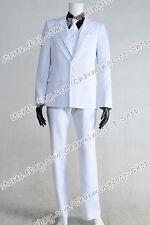 Batman: Arkham Origins Cosplay Black Mask Roman Sionis Costume Men Suit Outfits
