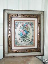 J. Thomas Stock Mathiola Floral Flower Framed Engraving
