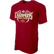 Iowa State Cyclones 2017 Big 12 Basketball Tournament Champs Locker Room T-Shirt