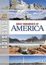 History Classics: Great Monuments of America [Region 1] - DVD - New - Free Shipp
