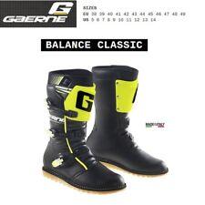 Stivali TRIAL moto GAERNE BALANCE CLASSIC black yellow fluo 2532019