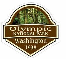 Olympic National Park Sticker Decal R1451 Washington