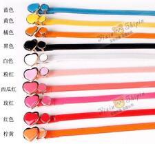 women waist belt  size 8,10,ladies belt faux leather heart,circle belt,UK seller