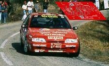 Calcas Citroen ZX 16V Rally Cataluña 1995 1:32 1:43 1:24 1:18 Catalunya decals
