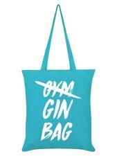 Gin borsa azzurro BLU Tote Bag 38x42cm