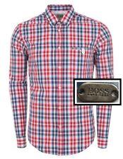 NWT Hugo Boss Green Label By Hugo Boss Plaid Pattern Button Down Sport Shirt