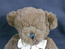 TARGET STORE CHOCOLATE BROWN VERY SOFT TEDDY BEAR CIRCO PLUSH STUFFED ANIMAL TOY