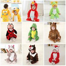 Deluxe Nuevo Niño Fiesta De Disfraces Disfraces de animales de la selva tamaño 0-24 meses