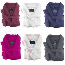 XLarge 100% Egyptian Cotton Terry Towelling Bathrobe Unisex Bath Robe Men Women