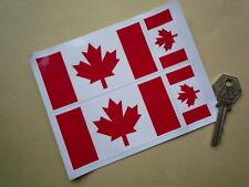 Canada 'Acero Leaf' 10.2cm & 5.1cm adesivi Canadese Mercury