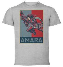 T-Shirt Gray - Propaganda Borderlands - Amara