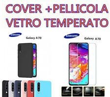 Cover Custodia morbida SILICONE TPU OPACA per samsung Galaxy A70