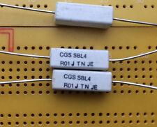 10mΩ 51mΩ 5% Film Metallico 4 W basso ohm resistore ASSIALE QUADRATO IN CERAMICA SBL Multi-Qtà