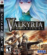 Brand new Valkyria Chronicles Playstation 3 PS3 Sega Valkyrie Mechanics strategy