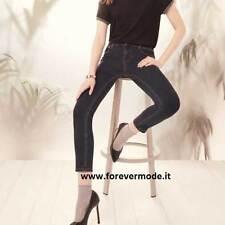 Panta donna Matignon jeans con cotone, vere tasche su fronte e retro art Liaison