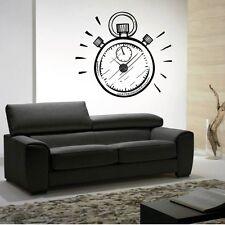 Sticker mural Horloge géante MONTRE GOUSSET avec mécanisme aiguilles