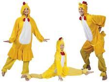 Hahn Huhn Hühner Chicken Hünchen Kücken Kostüm Overall Plüsch Tier Hühnerkostüm
