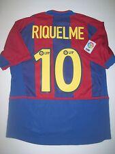 2002-2003 Nike FC Barcelona Juan Riquelme Jersey Trikot Maglia Kit FCB Argentina