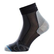 Odlo LIGHT QUARTER Socken, Laufsocken, Sneakersocken, schwarz