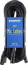 SAMSON MC18-Confezione da 3 MIC CAVI 5,5 m (18 piedi) ** NUOVO **