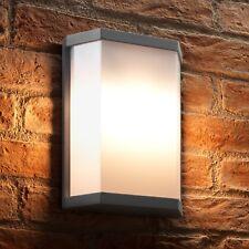 Auraglow Ultra Modern 10w LED Twin Lamp Garden Outdoor LED Futuristic Wall Light