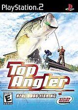 Top Angler: Real Bass Fishing PlayStation 2 PS2 -- CIB