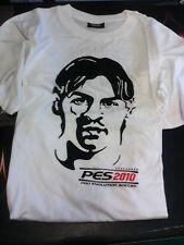 T-shirt PES 2010 - Maglietta  bianca Pro Evolution Soccer 2010 Lionel Messi