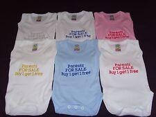 Funny Bordado Personalizado Chaleco bebé ducha regalo padres para la venta compre 1 lleve