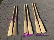 NEU 2x Holz Ruder , Paddel , Holzpaddel, Holzruder 165cm - 180cm - 195cm