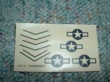 Upc decals 1/72 Thunderbolt