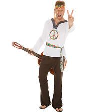 Herrenkostüm Hippie Jimmy Kostüm Männer Karneval Fasching Halloween 70er 60er