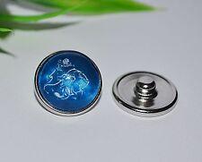 Button Druckknopf ++ Auswahl ++ Sternzeichen +++ Armband snap Wechsel Ring Kette